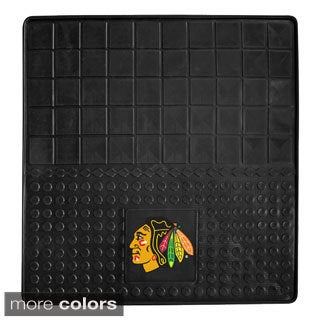 NHL Hockey Team Logo Heavy Duty Vinyl Car Cargo Mat