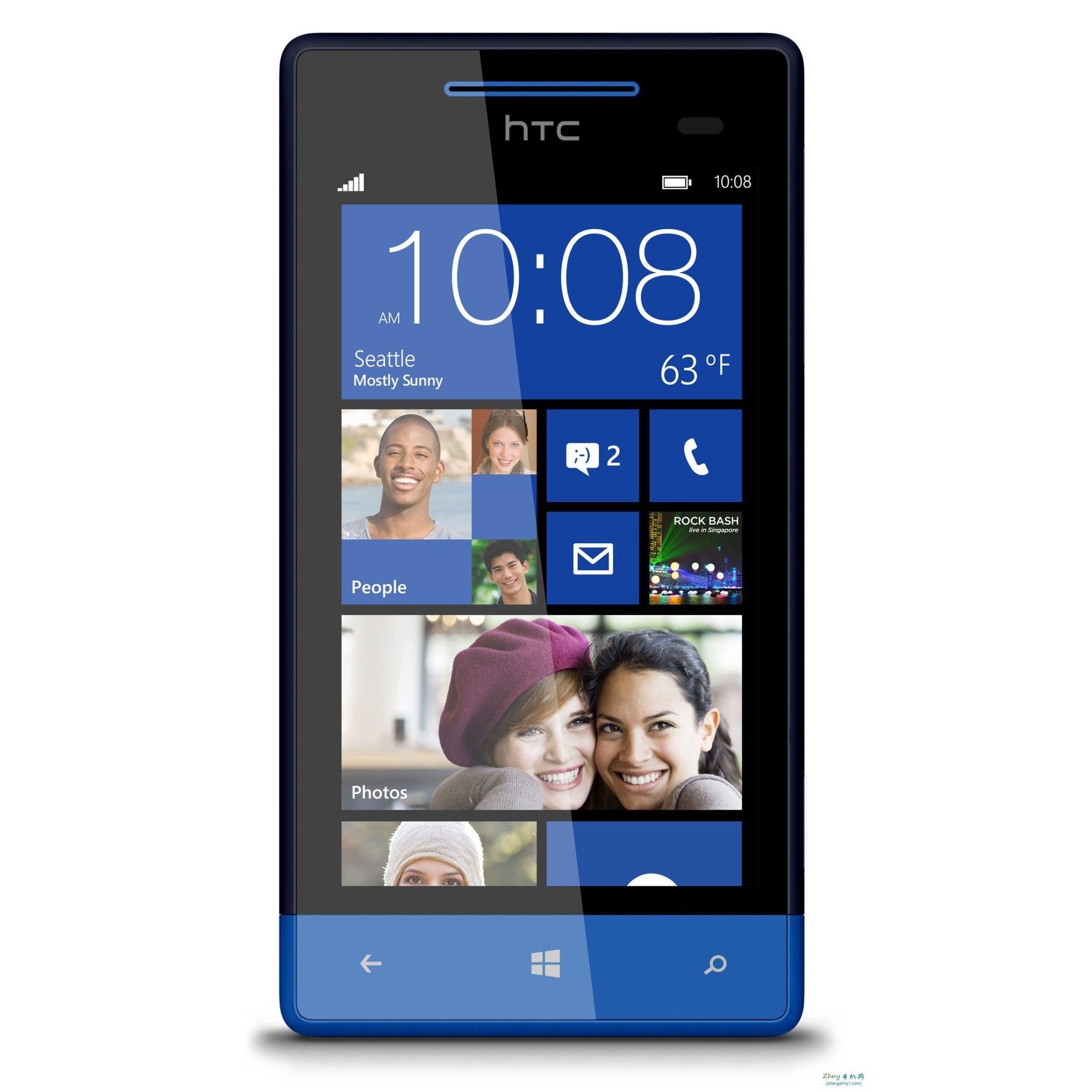 HTC 8X At&t 8GB GSM Unlocked OS 8 Phone (HTC C625B At&t B...