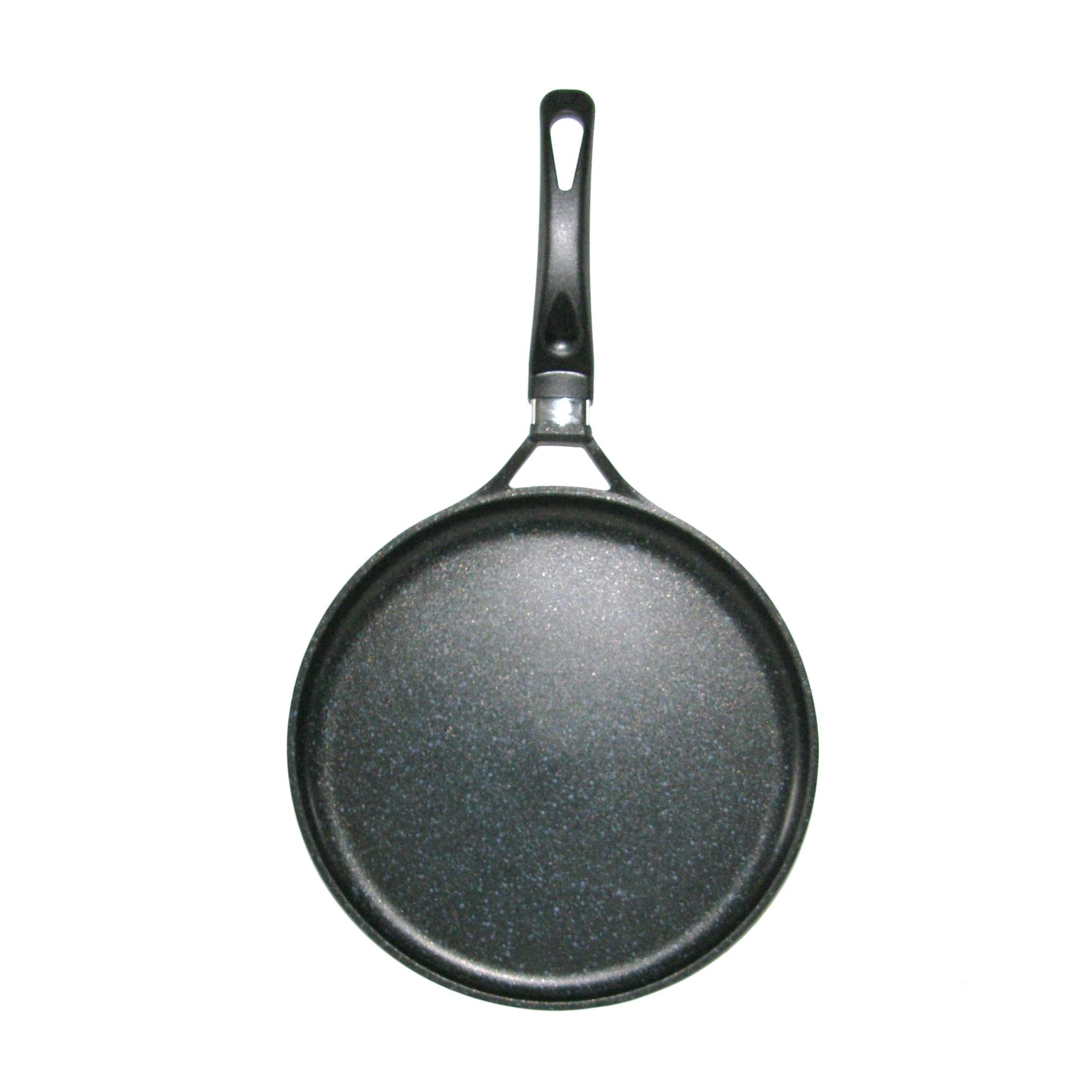 Mega Cook 12-inch XL Round Non-stick Stone Marble Comal/ ...