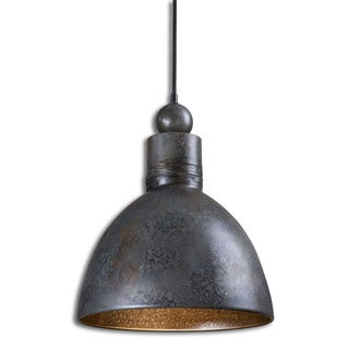 Uttermost Adelino 1-light Aged Grey Pendant