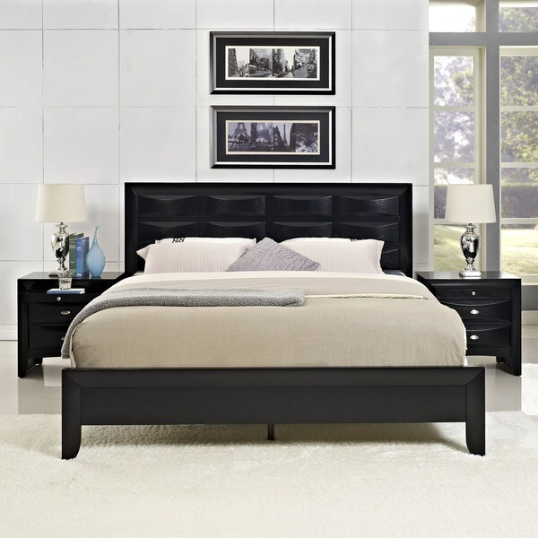 harrison charcoal veneer 3 piece bedroom set free shipping today