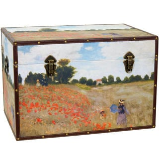 Monet's Poppies Trunk