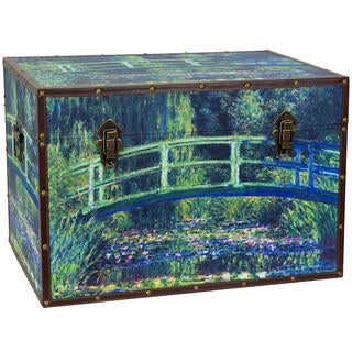 Monet's Garden Art Trunk