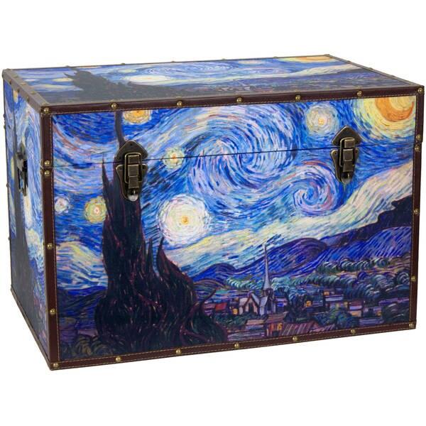 Handmade Van Gogh's Starry Night Trunk