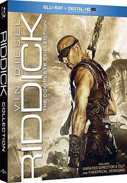 Riddick: The Complete Collection (Blu-ray Disc)
