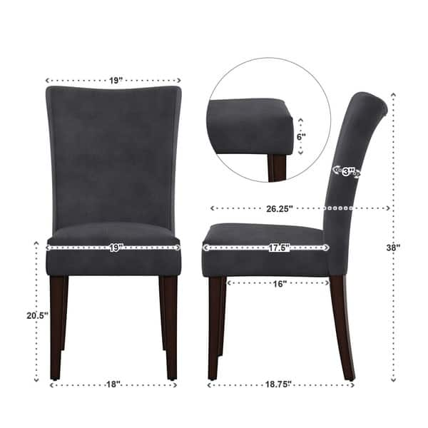 Awesome Shop Catherine Parsons Dining Chair Set Of 2 By Inspire Q Creativecarmelina Interior Chair Design Creativecarmelinacom