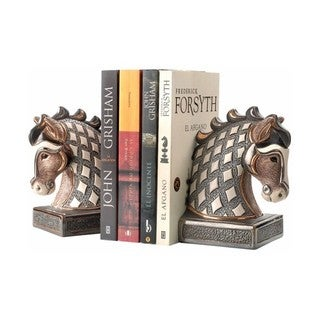 DeRosa White Horse Bookend