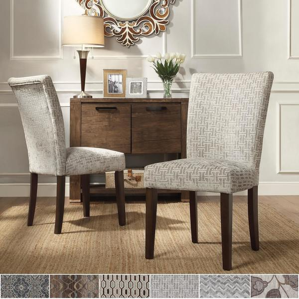 Catherine Print Parsons Dining Side Chair (Set Of 2) By INSPIRE Q Bold
