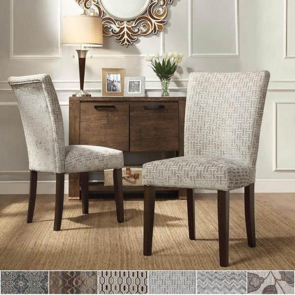 Catherine Print Parsons Dining Side Chair Set Of 2 By