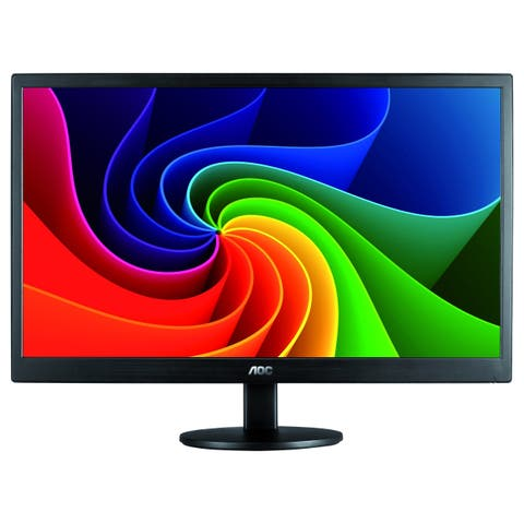 "AOC E970SWN 18.5"" WXGA LED LCD Monitor - 16:9 - Black"