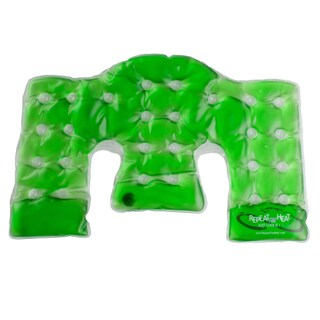 PCH Reusable Hot/ Cold Neck and Shoulder Pad (Option: Green)