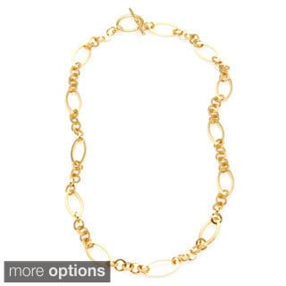 Simon Frank Oval Triple Round Link 9mm Vogue Fashion Chain