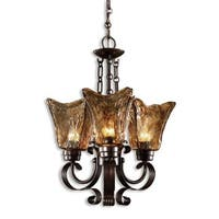 Uttermost Vetraio 3-light Oil Rubbed Bronze Chandelier