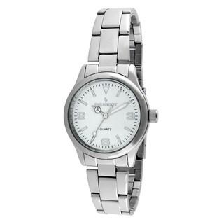 Peugeot Women's Silvertone Bracelet Watch