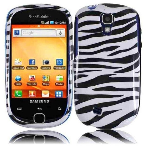 INSTEN Zebra Phone Case Cover for Samsung Gravity Smart T589