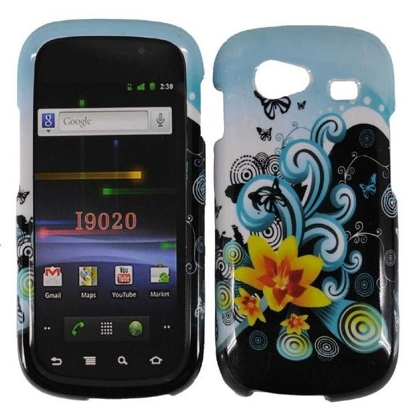INSTEN Yellow Lily Phone Case Cover for Samsung Google Nexus S 4G i9020/ i9020s