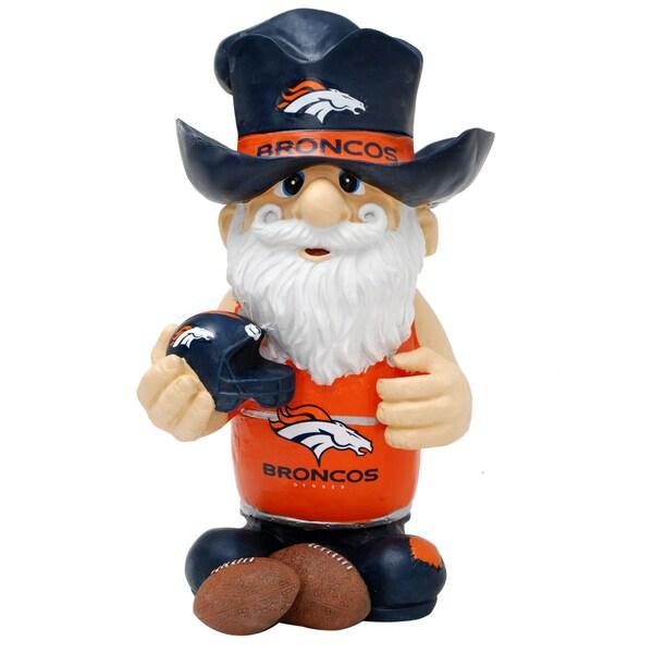NFL Denver Broncos 11-inch Thematic Gnome