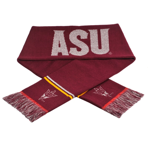 Forever Collectibles NCAA Arizona State Sun Devils Woven Metallic Scarf