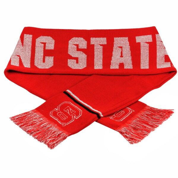 Forever Collectibles NCAA North Carolina State Wolfpack Woven Metallic Scarf