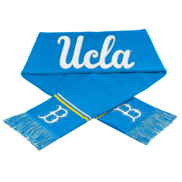 Forever Collectibles NCAA UCLA Bruins Woven Metallic Scarf