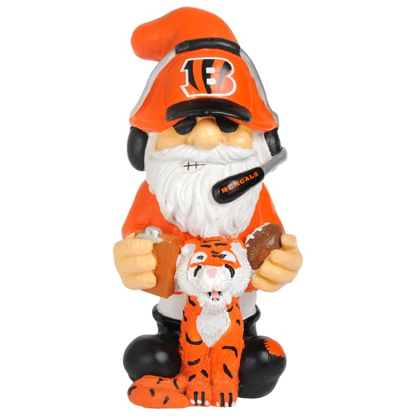 Forever Collectibles NFL Cincinnati Bengals 11-inch Thematic Gnome
