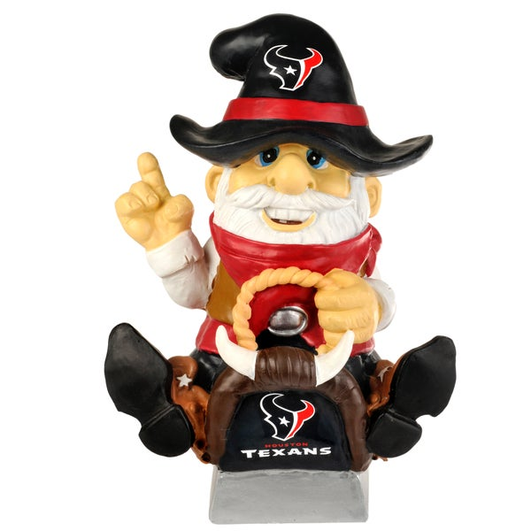 Forever Collectibles NFL Houston Texans 11-inch Thematic Gnome