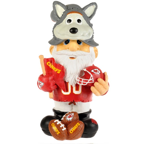 NFL Kansas City Chiefs 11-inch Thematic Gnome