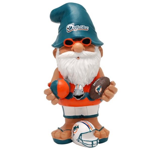 55d7b03f6247a8 Shop NFL Miami Dolphins 11-inch Thematic Gnome - Free Shipping On ...
