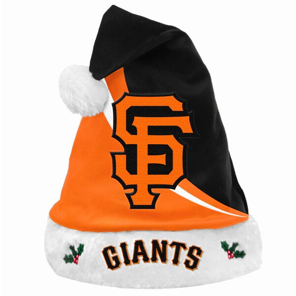 Forever Collectibles MLB San Francisco Giants Polyester Swoop Santa Hat