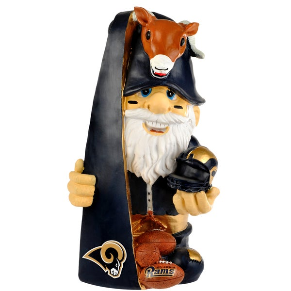 Forever Collectibles NFL St. Louis Rams 11-inch Thematic Gnome