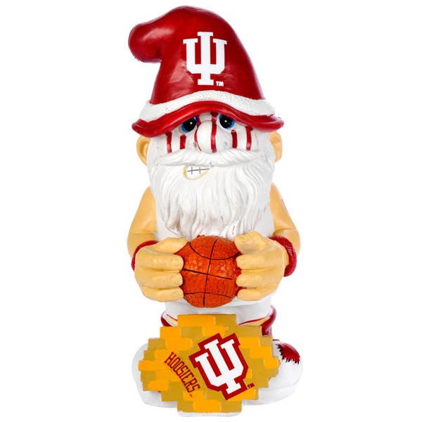 Forever Collectibles NCAA Indiana Hoosiers 11-inch Thematic Gnome