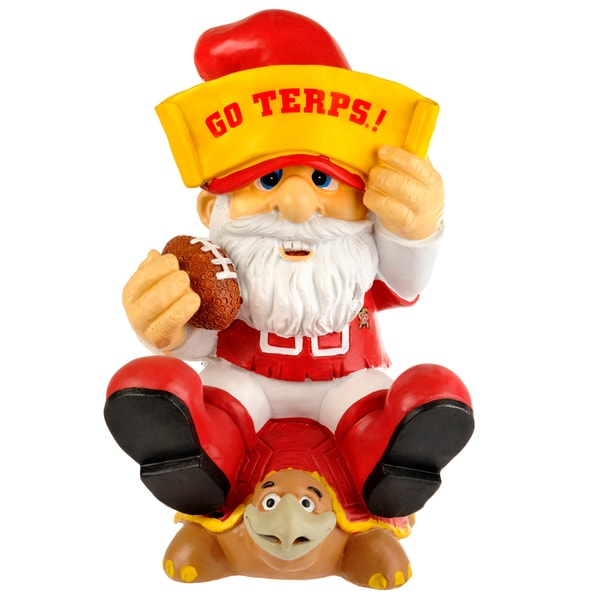 Forever Collectibles NCAA Maryland Terrapins 11-inch Thematic Gnome
