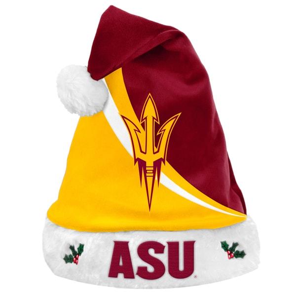 NCAA Arizona State Sun Devils Polyester Swoop Santa Hat