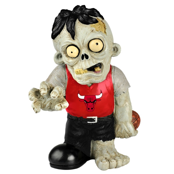 Forever Collectibles NBA Chicago Bulls 9-inch Zombie Figurine