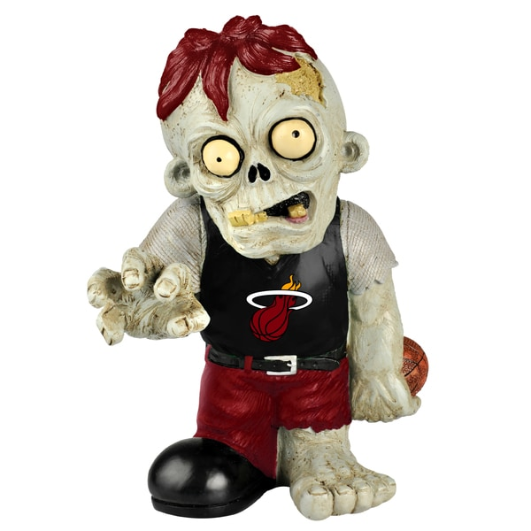 Forever Collectibles NBA Miami Heat 9-inch Zombie Figurine
