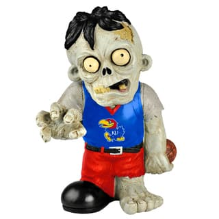 Forever Collectibles NCAA Kansas Jayhawks 9-inch Zombie Figurine|https://ak1.ostkcdn.com/images/products/8552560/P15830772.jpg?impolicy=medium