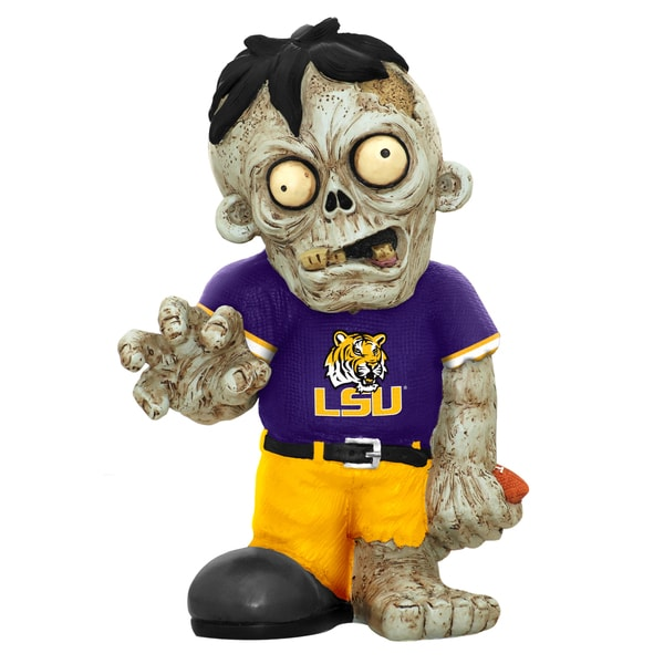 Forever Collectibles NCAA LSU Tigers 9-inch Zombie Figurine