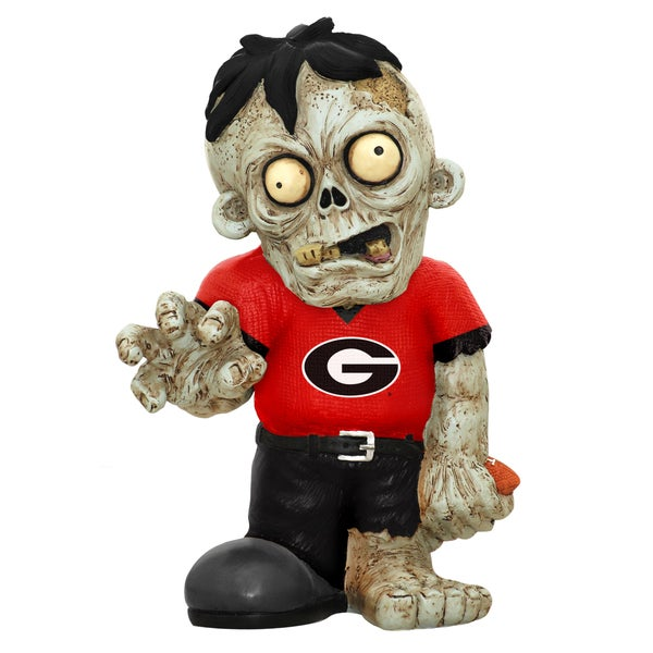 Forever Collectibles NCAA Georgia Bulldogs 9-inch Zombie Figurine
