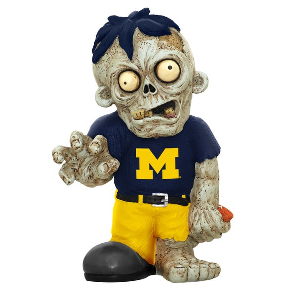 Forever Collectibles NCAA Michigan Wolverines 9-inch Zombie Figurine