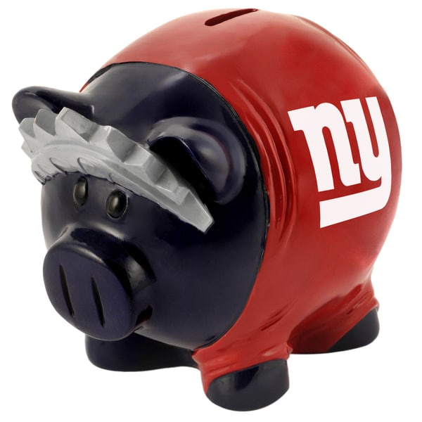 NFL New York Giants Thematic Resin Piggy Bank