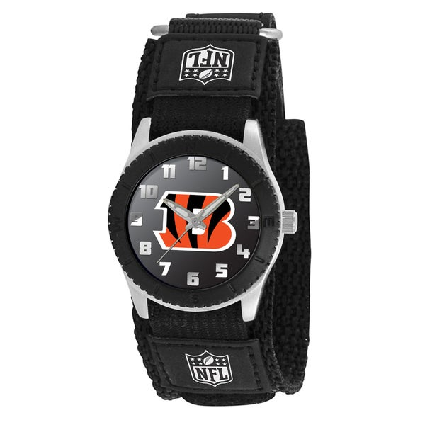 Game Time NFL Cincinnati Bengals Black Rookie Series Watch
