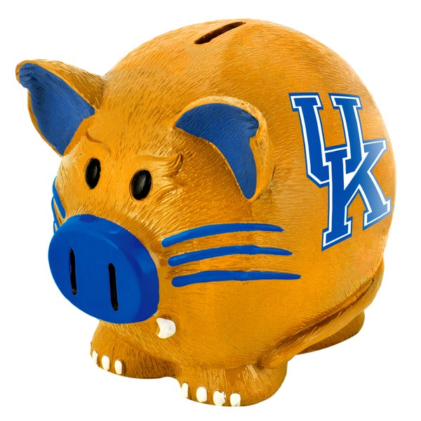 Forever Collectibles NCAA Kentucky Wildcats Thematic Resin Piggy Bank