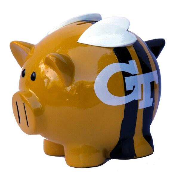 NCAA Georgia Tech Yellow Jackets Thematic Piggy Bank