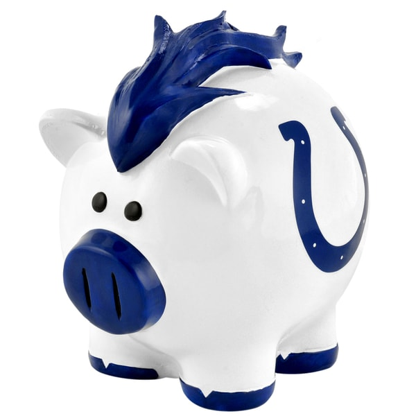 NFL Indianapolis Colts Thematic Resin Piggy Bank