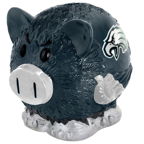Forever Collectibles NFL Philadelphia Eagles Thematic Resin Piggy Bank