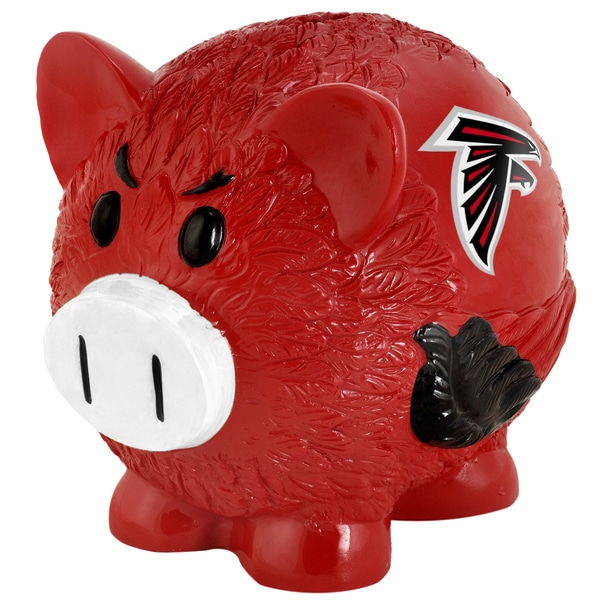 Forever Collectibles NFL Atlanta Falcons Thematic Resin Piggy Bank
