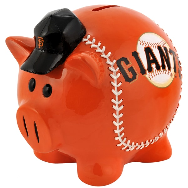 MLB San Francisco Giants Thematic Resin Piggy Bank
