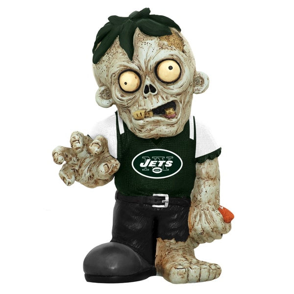 Forever Collectibles NFL New York Jets 9-inch Zombie Figurine