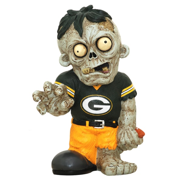 NFL Green Bay Packers 9-inch Zombie Figurine