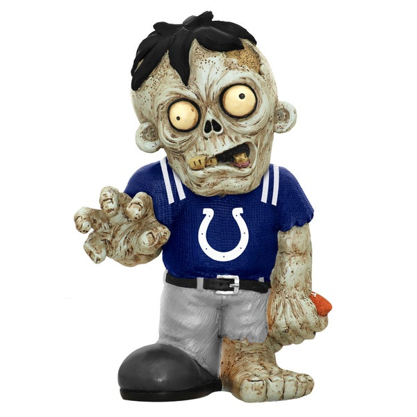 Forever Collectibles NFL Indianapolis Colts 9-inch Zombie Figurine
